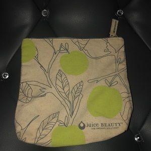 Juice beauty makeup bag cosmetic pouch purse